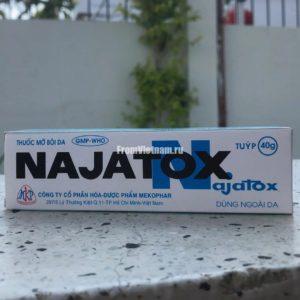 Крем со змеиным ядом NAJATOX ( Наятокс ) 40г