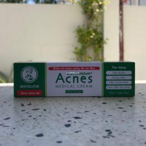 Лечебный крем от прыщей Acnes 18г