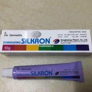 Silkron Creme (Silkeron) противогрибковый крем для ногтей и кожи 10гр