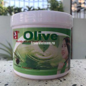 Маска для волос с оливковым маслом 500мл