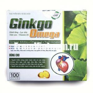 Ginkgo Omega 360мг 100 капсул