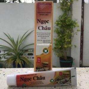 Зубная паста на травах Ngoc Chau 100г