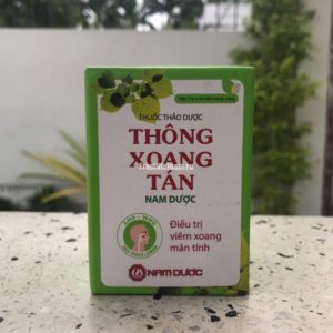 Thong Xoang Tan средство от гайморита 50 капсул
