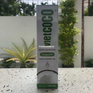 VietCoco натуральное кокосовое масло косметическое 130-250мл