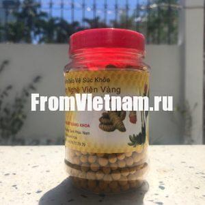 Mat Ong Nghe Vien Vang драже мед и куркума 150г